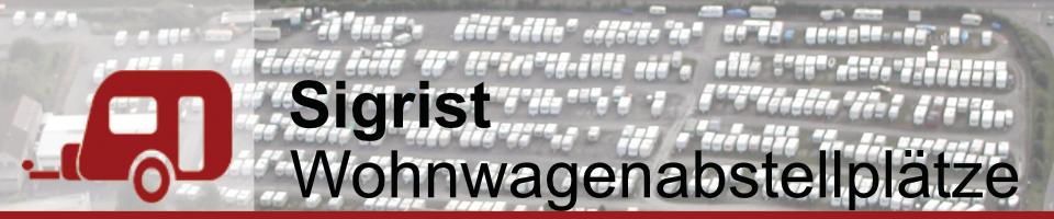 Wohnwagenabstellplätze Sigrist Steinheim